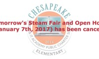 Cmit elementary steam fair open house